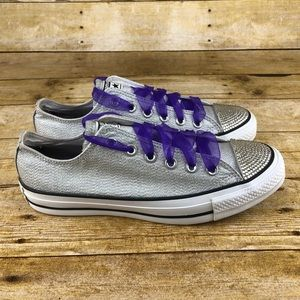 Converse All Star Jewel Toe Low Top Shoes